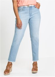 Autentisk stretch-jeans, CLASSIC, 7/8-lang, John Baner JEANSWEAR