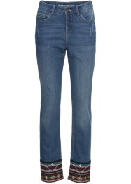Relaxed jeans med bord nederst, RAINBOW