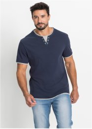T-shirt, 2-i-1 optikk, normal passform, bpc bonprix collection