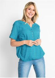 Bluse-tunika, kort arm, bpc bonprix collection