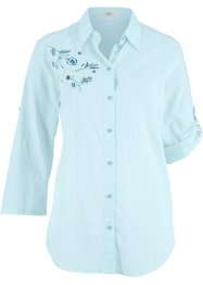 Bluse med broderi, bpc bonprix collection