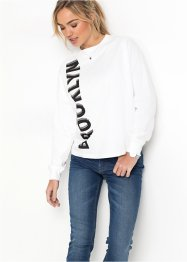 Sweat med print, RAINBOW