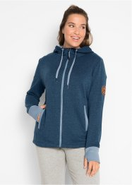 Sweatjakke, langermet, bpc bonprix collection