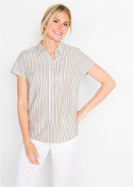 Bluse, kort arm, bpc bonprix collection
