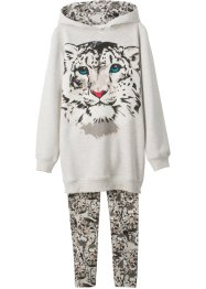 Sweatshirt + leggings (sett i 2 deler), bpc bonprix collection