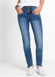 "Shaping-jeans med stretch ""mage-rumpe-lår"", smal passform, John Baner JEANSWEAR"