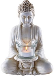 Dekorativ buddha-figur med telysholder, bpc living bonprix collection