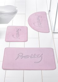 "Badematte ""Pretty"" Memoryskum, bpc living"