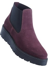 Chelsea boots i skinn, bpc bonprix collection