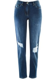 Jeans i used-look - designet av Maite Kelly, bpc bonprix collection
