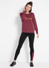 Sweatshirt med leggings, i sett, bpc bonprix collection