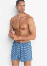 Boxershorts i vevd stoff (3-pakning), bpc bonprix collection