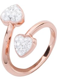 Ring med Swarovski® krystaller, bpc bonprix collection