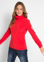 Fleece-topp med rullekrage, bpc bonprix collection