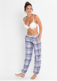 Pyjamasbukse med ribbestrikket linning, bpc bonprix collection