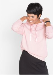 Sweatshirt med glitterbånd, bpc bonprix collection
