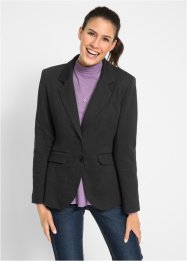 Jersey-blazer  i bomull, bpc bonprix collection