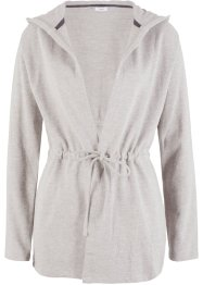 Sweat-cardigan med hette, bpc bonprix collection
