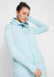 Sweatjakke med neon-highlights, lang arm, bpc bonprix collection