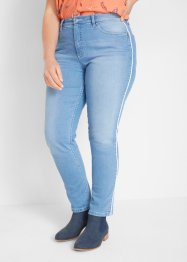 Authentic stretch-jeans med bise, Straight, John Baner JEANSWEAR