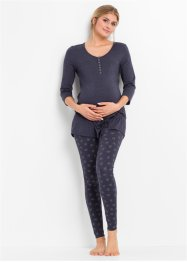 Mammapyjamas med leggings til over magen, bpc bonprix collection - Nice Size
