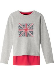 Sweatshirt + topp (sett i 2 deler), bpc bonprix collection