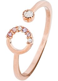 Ring foredlet med Swarovski® krystaller, bpc bonprix collection