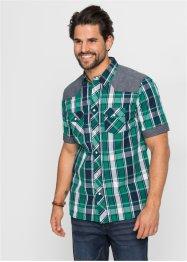 09800ad4 Skjorte med kort arm, normal passform, John Baner JEANSWEAR