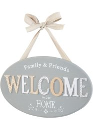 "Pynteskilt ""Welcome"", bpc living"