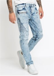 Biker Stretch-Jeans Slim Fit Straight, RAINBOW