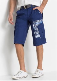 Lang cargo-bermuda, Loose Fit, bpc bonprix collection
