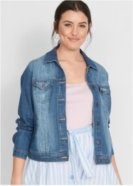Kort jeans-jakke, lang arm - designet av Maite Kelly, bpc bonprix collection