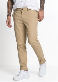 Stretch-chinos med refleksdetaljer, Regular Fit Tapped, RAINBOW