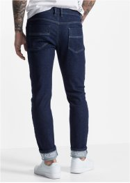 Sweat-Jeans med refleksdetaljer, Slim Fit Straight, RAINBOW