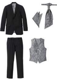 Dress (5 deler), blazer, bukse, vest, plastron, lommetørkle, bpc selection