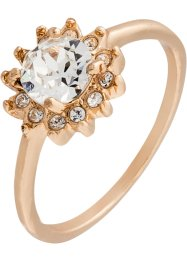 Ring med Swarovski®-krystall, bpc bonprix collection