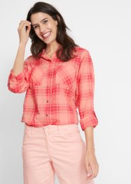 Rutet bluse, bpc bonprix collection