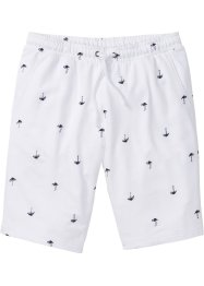 Sweatshorts med trykk, bpc bonprix collection