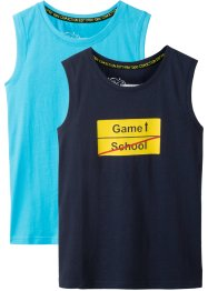 Tanktopp (2-pack), bpc bonprix collection