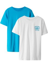 Basic T-shirt (2-pack), bpc bonprix collection