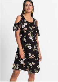 37ca5983 Cold-shoulder-kjole med print, BODYFLIRT. Størrelser / Tilgjengelighet