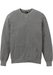 Piquet-sweatshirt med rund hals, bpc bonprix collection