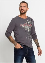 Langermet topp, Slim Fit, RAINBOW