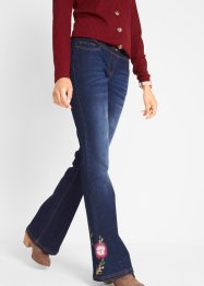 Jeans med sleng, med trykk, bpc bonprix collection