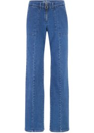 Autentisk stretch-jeans, Wide Fit, John Baner JEANSWEAR