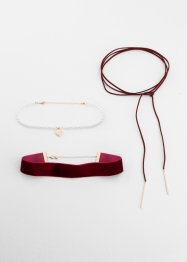 Chokersett, 3 deler, bpc bonprix collection