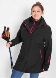 Softshell-jakke med stretch, 2-i-1 optikk, bpc bonprix collection
