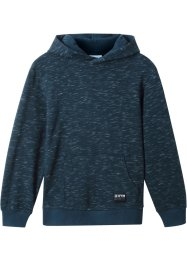 Sweatshirt med hette, melert, bpc bonprix collection