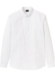 Langermet skjorte med button down-rage, Slim Fit, RAINBOW