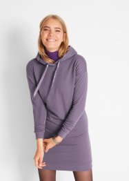 Sweatkjole med hette, bpc bonprix collection